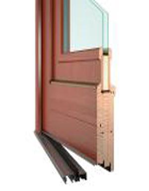 Vchodové dřevěné dveře DESIGN 42