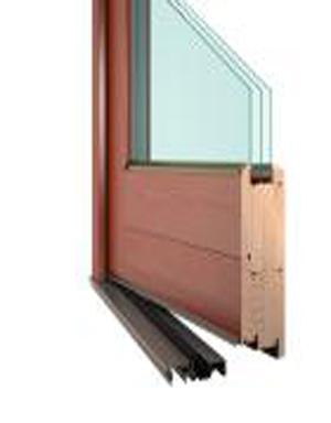 Vchodové dřevěné dveře DESIGN
