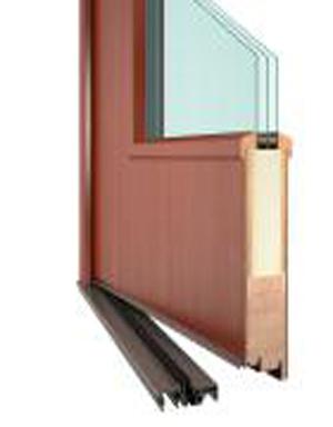 Vchodové dřevěné dveře NOVODESIGN