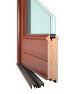 Vchodové dřevěné dveře RD KLASIK