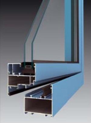 Profil okna METALIC INTERIER