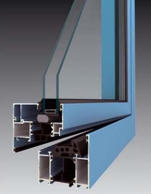 Profil okna METALIC STANDARD